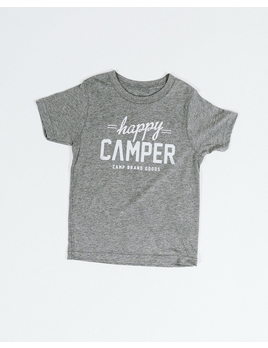 CampBrand Goods Camp Brand Kids Happy Camper Tee
