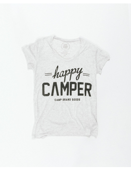 CampBrand Goods Camp Brand Women's Happy Camper Loose Tee