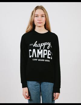 CampBrand Goods Camp Brand Happy Camper Crewneck