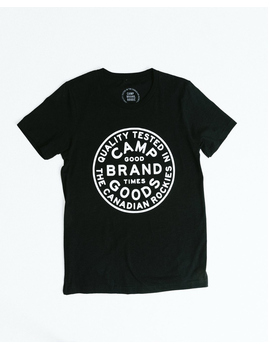 CampBrand Goods Camp Brand Men's Camp Stamp Tee