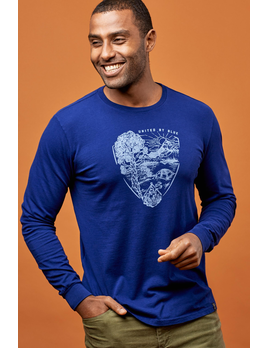 UNITED BY BLUE United By Blue Men's Park Pennant L/S Tee