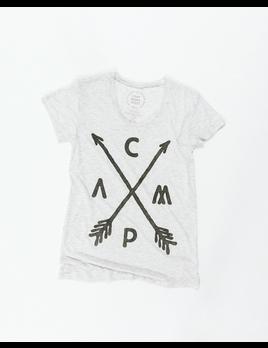 CampBrand Goods Camp Brand Women's Arrow Crest Tee