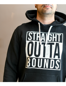 Outtabounds STRAIGHT OUTTABOUNDS HOODY