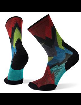 SMARTWOOL Smartwool PhD Pro Endurance Print Crew Sock