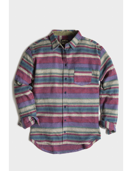 UNITED BY BLUE United By Blue W's Striped L/S Flannel Shirt