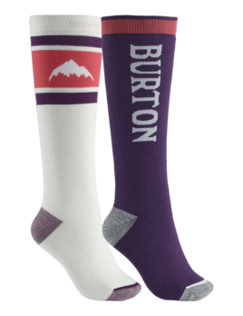 Burton Burton Women's Weekend Midweight 2-Pack Snowboard Sock