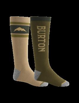 Burton Burton Men's Weekend Midweight 2-Pack Snowboard Sock