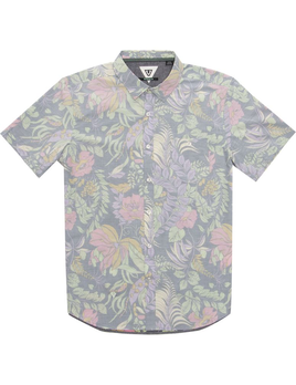 VISSLA Vissla Men's Kookabura S/S Woven Shirt