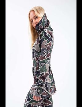 Eivy Eivy Women's Camo Landscape Icecold Gaiter Top