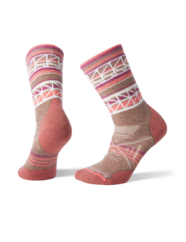 SMARTWOOL Smartwool Women's PhD Outdoor Medium Pattern Crew Sock