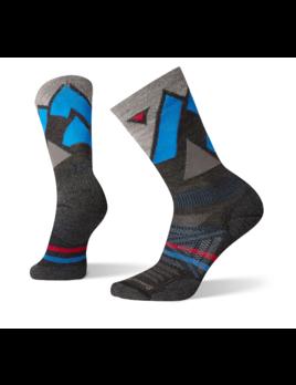 SMARTWOOL Smartwool Men's PhD Outdoor Light Pattern Crew Sock