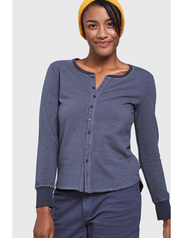 UNITED BY BLUE United By blue Women's L/S Trail Light Thermal Henley