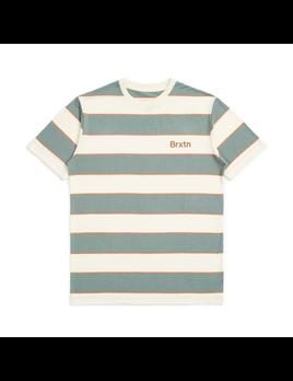 Brixton Brixton M's Hilt Print Short Sleeve Knit Tee