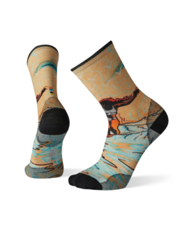 SMARTWOOL Smartwool Men's Curated Evening Crew Socks