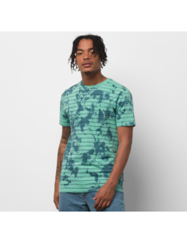 VANS Vans M's Tie Dye Checker Stripe Shirt