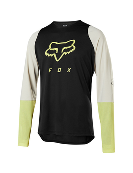 Fox Fox Men's Defend Long Sleeve Fox head Jersey