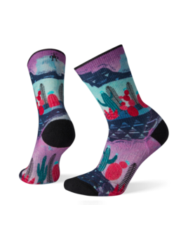 SMARTWOOL Smartwool Women's PhD Outdoor Light Print Crew Socks