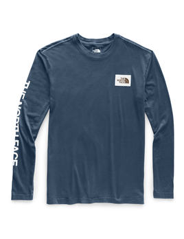 TNF The North Face Men's Long-Sleeved Westbrae Tee