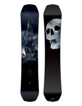 CAPiTA Capita Men's Black Snowboard of Death (2019)