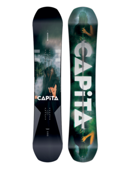 CAPiTA Capita Men's Defenders of Awesome Snowboard (2019)