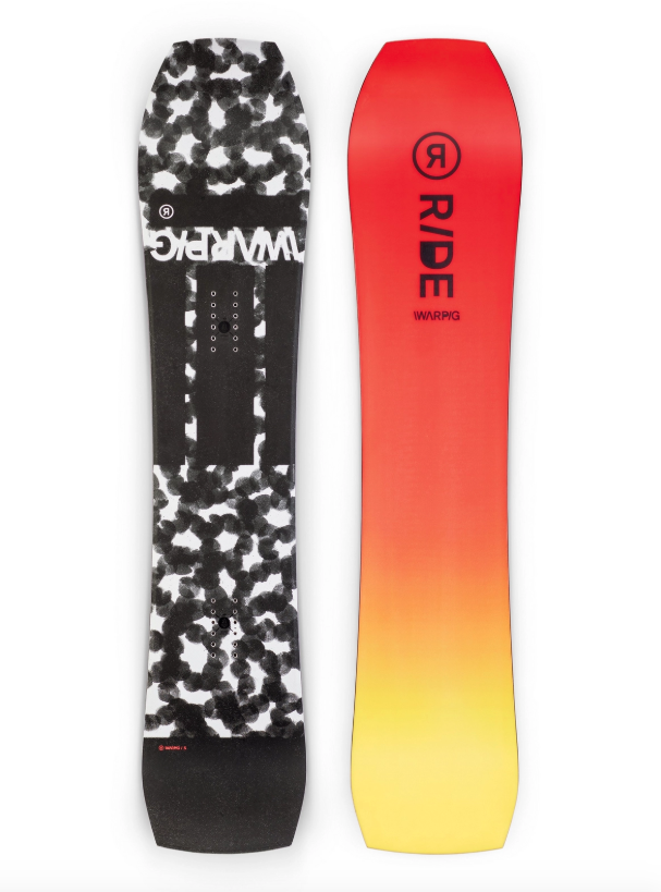 RIDE Ride Men's WARPIG Snowboard (2020)