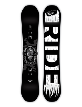 RIDE Ride Men's Machete Snowboard (2019)