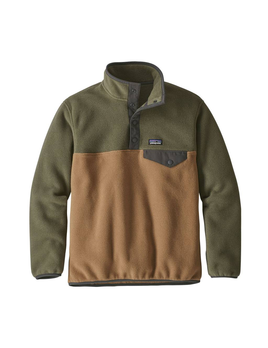 Patagonia Patagonia Boys Lightweight Synchilla Snap-T Pullover