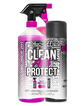 Muc-Off Muc-Off Bicycle Duo Clean and Protect Kit w/ Sponge