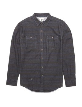 VISSLA M'S VISSLA TRAILS FLANNEL
