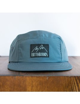 OUTTABOUNDS OUTTABOUNDS LINE LOGO FIVE PANEL