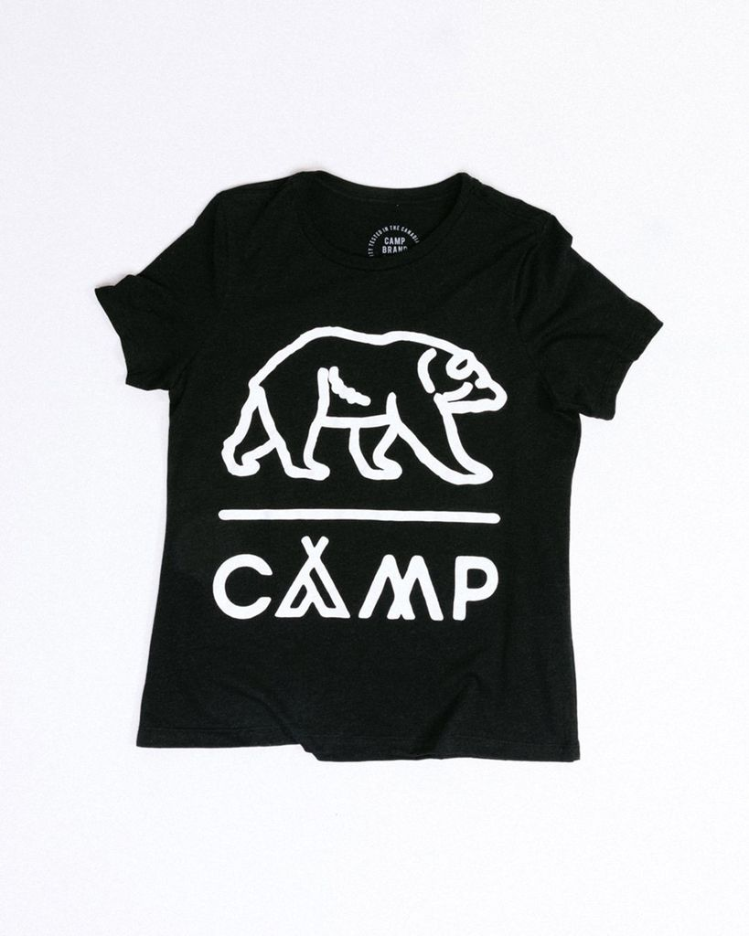 CAMPBRAND GOODS GRIZZLY RELAXED T-SHIRT