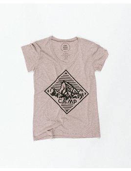 CAMPBRAND GOODS HERITAGE DIAMOND LOOSE T-SHIRT