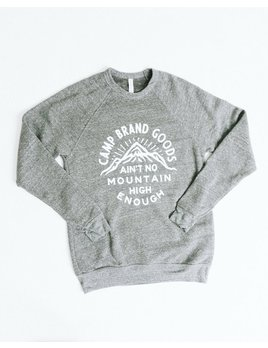 CAMPBRAND GOODS CAMP BRAND MOUNTAIN HIGH CREWNECK