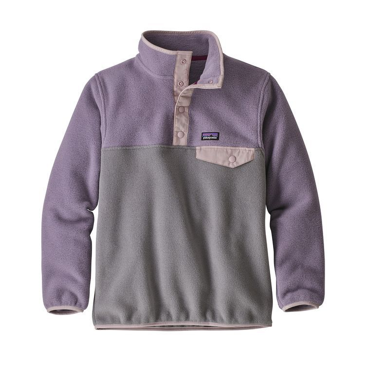 PATAGONIA GIRL'S PATAGONIA LW SYNCHILLA SNAP-T PULL OVER