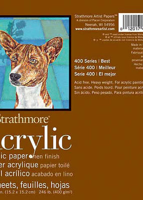 Strathmore Strathmore Acrylic Paper Pad 400 Series 6 x 6 Inch
