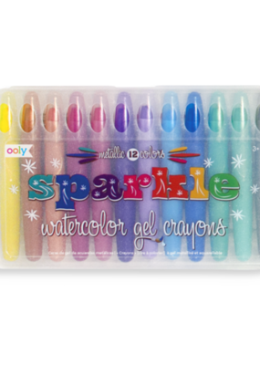 Ooly Watercolor Gel Crayons Sparkle