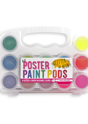 Ooly Lil' Poster Paint Glitter & Neon