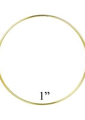 Darice Bulk Brass Ring 1 Inch