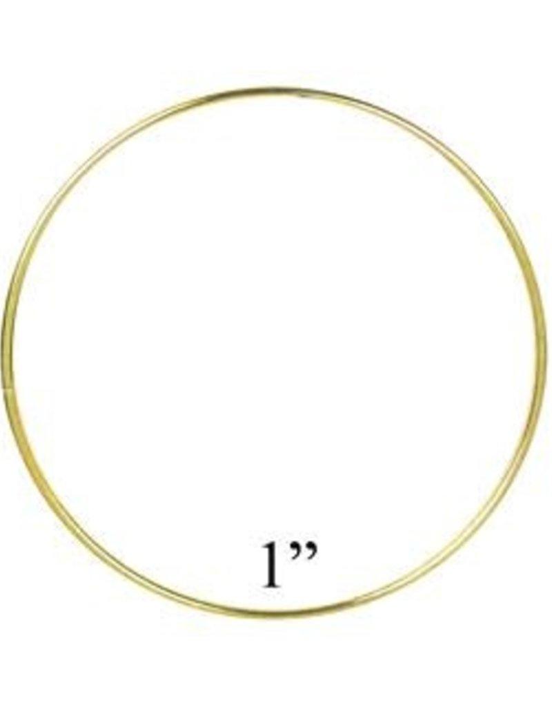 Darice Bulk Brass Ring 1 Inch