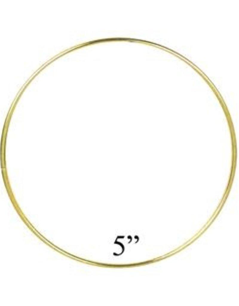 PA Essentials Brass Ring 5 Inch