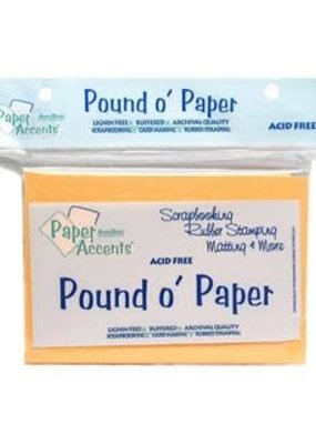 Paper Accents Pound O' Paper Pack
