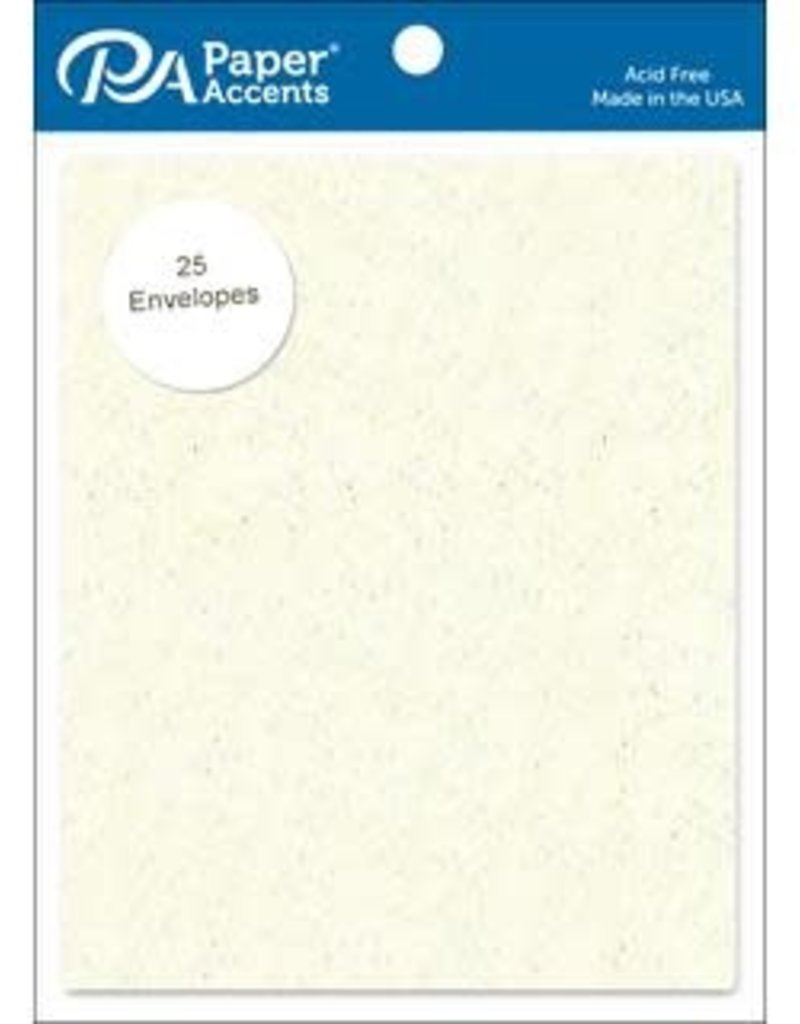 Paper Accents A2 Envelopes 4.25 x 5.5 Inch 25 Piece Pack Recycled Birch
