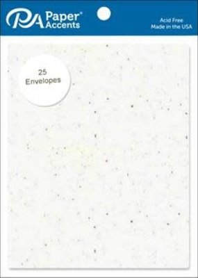 Paper Accents A2 Envelopes 4.25 x 5.5 Inch  25 Piece Pack Kaleidoscope