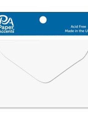 Paper Accents Envelope 1.75x2.38 15pc White