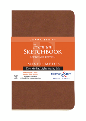 Stillman & Birn Sketchbook Gamma Series Premium Soft-Cover 5.5 x 8.5 Inch
