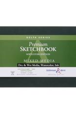 Stillman & Birn Sketchbook Delta Series Soft Cover Sketch Landscape 8.5 x 5.5 Inch