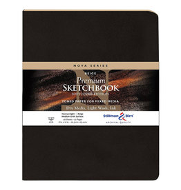 Stillman & Birn Sketchbook Nova Series Premium Soft Cover Beige 8 x 10 Inch