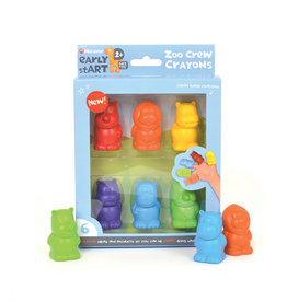 Micador Zoo Crayons 6 Pack
