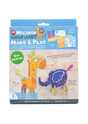 Micador Make and Play 2 Piece Set Zoo Edition