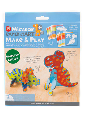 Micador Make and Play 2 Piece Dino Edition